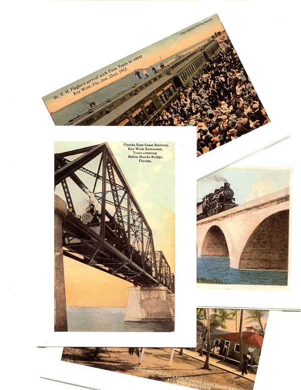 Over-Sea Railroad Notecard Set