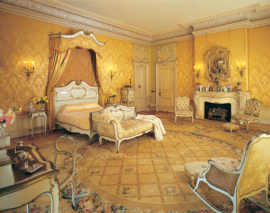 The Suite Included Two Separate Dressing Chambers A Large Bath Area And Bedroom Decorated In