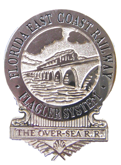 Over-Sea Railway Pin