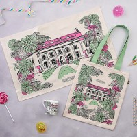 Pink and Green Whitehall Collection Souvenir Set